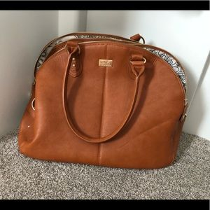 Other - Large Cognac Diaper Bag